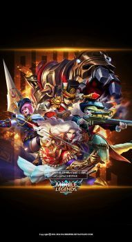 Wallpaper Phone ROYAL Squad Mobile Legend by FachriFHR Wallpaper Hd Mobile, Royal Wallpaper, Bruno Mobile Legends, Skins Fire, Chris Brown Art, Joker Iphone Wallpaper, Moba Legends, Alucard Mobile Legends, Best Gaming Wallpapers