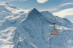 HEAD FOR THE SLOPES IN CHAMONIX-MONT-BLANC, FRANCE:
