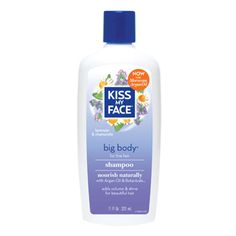 Kiss My Face Big Body Shampoo - biodegradable, paraben free, phthalate free, SLS free, vegan friendly, no artificial fragrances (This company offers a full line of hair care products.)