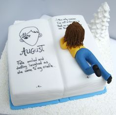 Book Club Cakes by Victoria Goldaracena. BakerByte via Flickr - Photo Sharing!