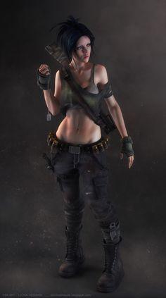 Leona Heidern (KOF character) by danilo_athayde - Danilo Athayde - CGHUB via PinCG.com
