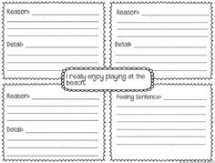 Writing Details Template