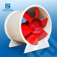 Quạt hướng trục AXP-8-NoD: là quạt hướng trục được thiết kế phục vụ cấp khí tươi tầng hầm, hút khói tầng hầm - hành lang, tăng áp cầu thang,...