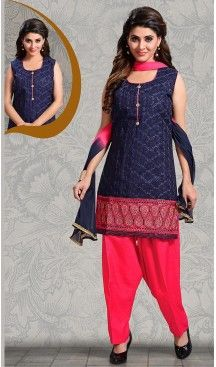 Navy #Blue Color Straight Cut #Chanderi #Silk Punjabi Patiyala Readymade Dresses   FH500576579 #punjabi , #patiyala, shindhi, #suits, #narrow, #dresses, #salwar, #kameez, #straight, #long, #heenastyle, #indian, #online, #shopping, #clothing, #womens, #girls, #style, #mode, #henna, #hina, #mehendi, #dupatta, #chudidar, @heenastyle , #pakistani, #readymade
