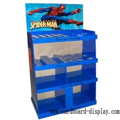 Spider-man Corrugated Pallet display rack for toys