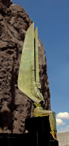 Hoover Dam Angel