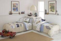 quarto muito pequeno com duas camas decorado - Pesquisa Google