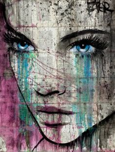"Artist: Loui Jover; Paint 2016 Drawing ""kashmir"""