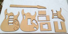 JEM template (has single coil and pickguard where the JPM one didn't