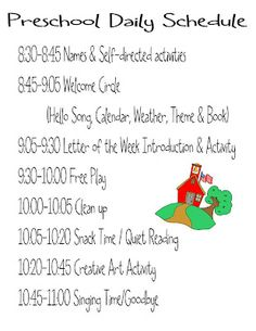 preschool lesson plan template | Copy of Pre-K at John Hay lesson ...
