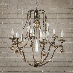 Shop chandeliers at Arhaus.com dining room