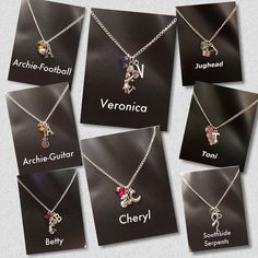 Riverdale Character Necklaces Source by lysandeblack clothes ideas Riverdale Merch, Riverdale Quotes, Riverdale Funny, Bughead Riverdale, Mean Girls, Riverdale Aesthetic, The Cw Series, Riverdale Fashion, Coque Iphone 7 Plus