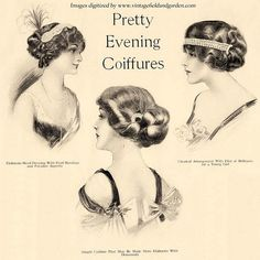 Retro Hairstyles Edwardian hairstyles - might be good with orthodox crowns? Historical Hairstyles, Edwardian Hairstyles, Evening Hairstyles, Retro Hairstyles, Hat Hairstyles, Hairstyle Pics, Homecoming Hairstyles, Hair Updo, Wedding Hairstyles