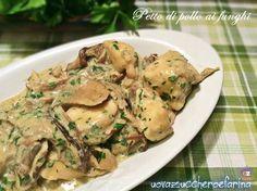 Il petto di pollo ai funghi può essere preparato utilizzando sia i funghi secchi che quelli freschi; è un secondo piatto semplice per tutta la famiglia.
