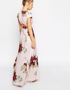 Image 2 of ASOS Maxi Dress In Floral Bloom Print