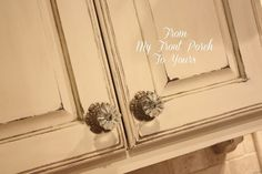 Creating a French Country Kitchen Cabinet Finish Using Chalk Paint :: Hometalk