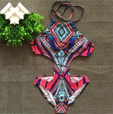 Shop trendy fashion swimwear online, you can get sexy bikinis, swimsuits & bathing suits for women on ZAFUL. Bathing Suits One Piece, One Piece Suit, One Piece Swimwear, One Piece Swimsuit, Swimsuit Material, Cheap Swimsuits, Cut Out One Piece, Suit Fashion, Facon