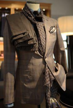luxury menswear suit