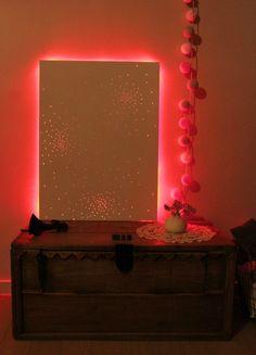 MDF drilled LED tape here:   http://www.amazon.com/LEDwholesalers-Flexible-300xSMD3528-Adhesive-2026WH/dp/B002Q8V8DM