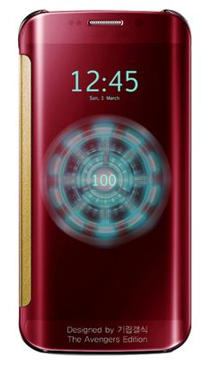 Iron Man Galaxy S6 edge is amazing, but here's what all the Avengers would look like as Samsung phones - photo 13