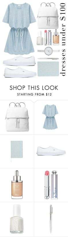 """Jane"" by anthony-ant ❤ liked on Polyvore featuring Michael Kors, Vans, Christian Dior, Essie, DKNY and dressesunder100"