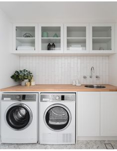 Best Laundry Room Decorating Ideas To Inspire You - Page 31 of 53 - VimDecor laundry room ideas, laundry room organization, laundry room design, laundry room decor Laundry Closet, Laundry Room Organization, Laundry In Bathroom, Basement Laundry, Laundry Storage, Laundry Shelves, Laundry Decor, Laundry Room With Sink, Ikea Laundry