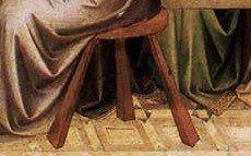 La cène (peinture de Lorenzo Monaco, vers 1394-95, Staatliche Museen, Berlin