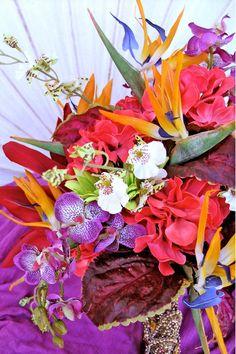 tropical paradise bouquet #dteam #etsy  #ExpressionsFloral