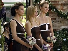 Image result for cream and brown wedding gowns