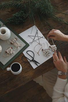 Christmas craft DIY by Trendenser Deco Originale, Decorating Blogs, Decoration, My Images, Mall, Diys, Christmas Crafts, Creations, Diy Crafts