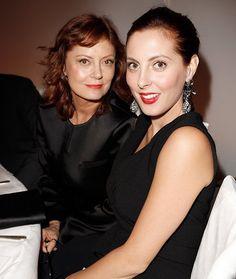 Susan Sarandon and Eva Amurri Martino