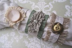 Ribbon Napkin Rings Tutorial