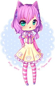 Commission: Azelle Chibi by Hyanna-Natsu on DeviantArt Anime Kawaii, Anime Chibi, Kawaii Chibi, Cute Chibi, Kawaii Cute, Anime Art, Chibi Characters, Cute Characters, Hyanna Natsu