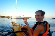 Pizza Kayak Tour from Batemans Bay Combine an award winning kayak tour with an award winning Pizza restaurant for a truly unique experience! This is a two hour guided kayak tour of the Batemans Bay harbour. Midway your choice of mouthwatering Pizza fromSams Pizzeria on the Waterfrontis delivered to your floating craft. The moon, stars and Clyde River National Park become your restaurant as you explore the area rich in history and marine life!This kayak tour starts with intro...