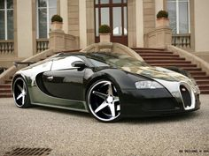 The rims on this Veyron