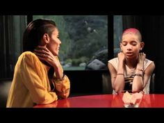 A Red Table Talk exclusive with Willow Smith.    This is a great example of an 11 year old girl opening up her heart to her mother and her grandmother.  She pours her feelings out and the two women are very good to restate and make sure they understand.  It really touched me.  I cried, and watched it twice.