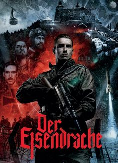"""Der Eisendrache poster. """"Der Eisendrache"""" means """"The Iron Dragon"""", which makes sense since there are dragons you feed around the map."""