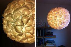 Papierlampe-Muffinförmchen.
