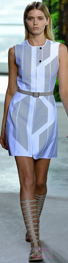 """Boss Spring 2015 Ready-to-Wear ♡♥♡♥ Thanks, Pinterest Pinners, for stopping by, viewing, re-pinning, & following my boards. Have a beautiful day! ^..^ and """"Feel free to share on Pinterest ^..^ #topfashion #fashionandclothingblog *•.¸♡¸.•**•.¸ ┊ ┊ ┊ ┊ ┊ ┊"""
