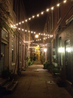 Make each place special. An alley in downtown Howell, Michigan.