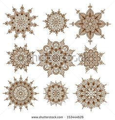 http://thumb9.shutterstock.com/display_pic_with_logo/886217/153444626/stock-vector-ornamental-flowers-vector-set-with-abstract-floral-elements-in-indian-style-153444626.jpg