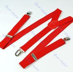ab6f4237120 Free Shipping Unisex Clip-on Braces Elastic Y-back Suspenders 7 color for  you