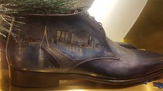 De Rotterdam - Koolhaas . OMA shoe Rotterdam, Shoe, Fan, Boots, Fashion, Crotch Boots, Moda, Zapatos, Fashion Styles