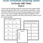 I have used the spelling words from Unit 5 to create this ABC order unit. This unit will meet the needs of all the learners in your classroom. I have added an ABC strip above the answer sheet to help maintain focus. I have also added answer keys.   The stories include:  U5W1-Alexander Graham Bell  U5W2-Ben Franklin and His First Kite  U5W3-Dot & Jabber and the Great Acorn Mystery  U5W4-Mole and Baby Bird  U5W5-Simple Machines  U5W6-Tippy-Toe Chick, Go!