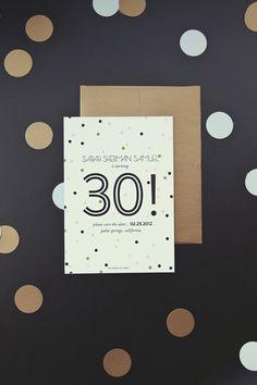 Sarah's Glam 30th Birthday Bash - The Sweetest Occasion | The Sweetest Occasion
