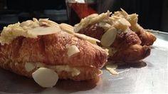 Croissants à la crème d'amandes ou «Frangipan»