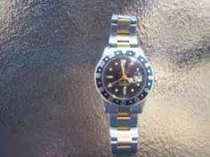 ROLEX GMT MASTER 2 TONE Oyster Band, Serviced~! (GOLD HILL Area )