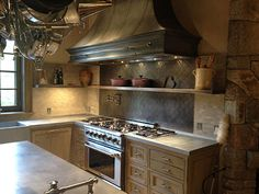 Scullery Style Zinc Sink and Countertop by Brooks Custom #kitchen ...