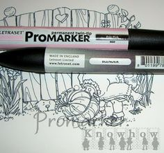 Promarker Knowhow: Lighter Shades with a Blender Pen
