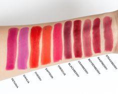 bareMinerals BarePro Longwear Lipstick in Cherry Best Lipstick Color, Lipstick For Fair Skin, Long Wear Lipstick, Natural Lipstick, Dark Lipstick, Best Lipsticks, Lipstick Swatches, Pink Lipsticks, Lipstick Shades